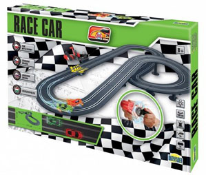 Tor wyścigowy dla dzieci Race Car 430 cm