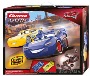 GO!!! Tor wyścigowy Disney/Pixar Cars 3 – Chłodnica Górska