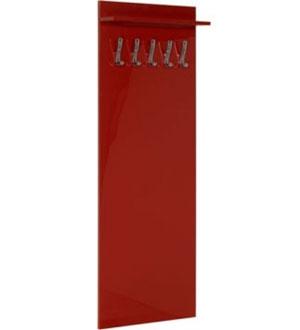 Wieszak wiszący wysoki czerwony SLW 45F