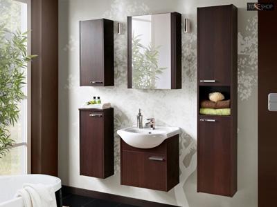 Zestaw mebli łazienkowych new york cfp50 wenge