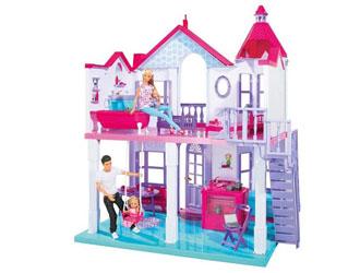 SIMBA Domek dla Lalek Barbie Steffi