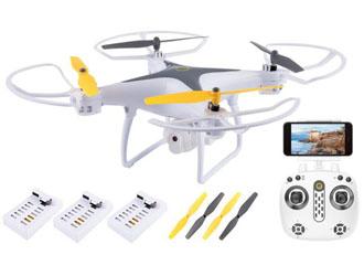 DRON OVERMAX Dron 3.3 WiFi FUNKCJA ZAWISU POWRÓT