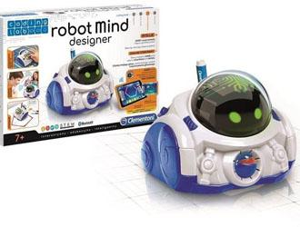 ROBOT INTERAKTYWNY EDUKACYJNY uczy matematyki, arytmetyki i geometrii, MIND DESIGNER Clementoni