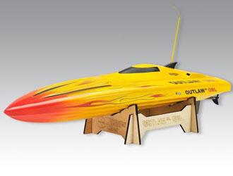 Łódź elektryczna Outlaw JR OBL Combo Plus ARTR (żółta) – Thunder Tiger
