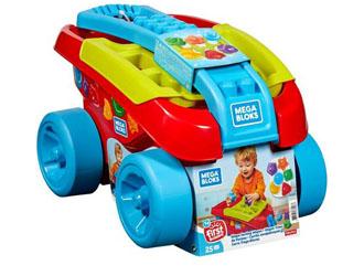 Wózek Mega Bloks BB Sorter kształtów