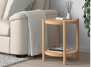 Mały stolik do salonu drewniany