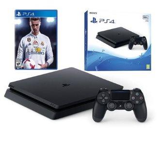 PlayStation 4 SLIM 500gb PS4 SLIM + Pad + FIFA 18