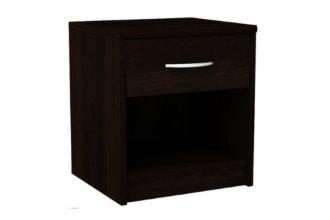Klasyczna szafka nocna z szufladą wenge