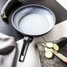 Patelnia ceramiczna MONETA ARIA FINEGRESS SZARA 28 cm