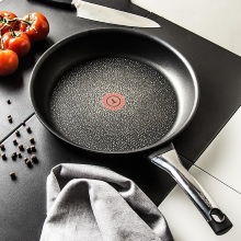 TEFAL Talent Pro C6210752 30 cm czarna - patelnia nieprzywierająca