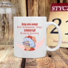 Kubek klasyczny + personalizacja - prezent dla Babci