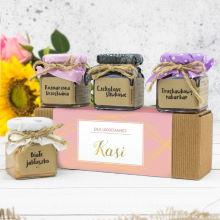 Zestaw naturalnych konfitur w pudełku – Dla Ukochanej