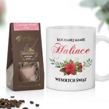 Kubek i czekolada na prezent dla mamy na święta - Dla Mamy