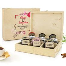 Zestaw naturalnych konfitur i herbat na ślub – Słodkiego Małżeństwa