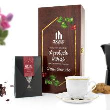 Wspaniały zestaw - filiżanka i czekolada deserowa Życzenia