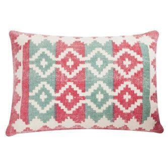 Dekoracyjna poduszka w azteckie wzory summer kelim 45×65