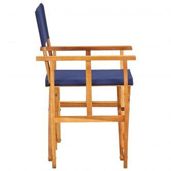 Komplet krzeseł reżysera martin – niebieskie