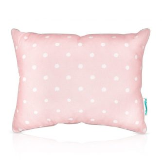 Dwukolorowa poduszka dziecięca w groszki lovely dots