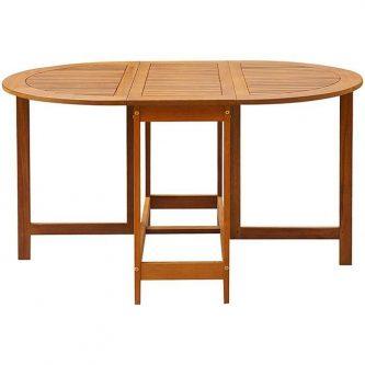 Stół ogrodowy aiguille z drewna akacjowego