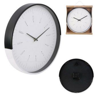 Zegar ścienny z białą tarczą quai