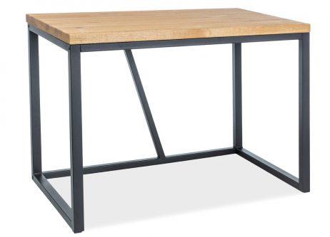 Prostokątne biurko w stylu industrialnym silvio