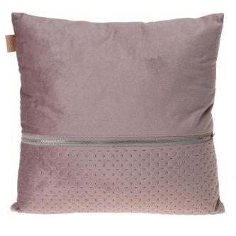 Poduszka do salonu z dekoracyjnym zamkiem nelli