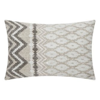 Prostokątna poduszka we wzory new kelim 35×50