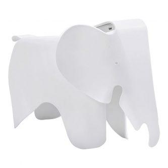 Dziecięce krzesło słoń elefunny – białe