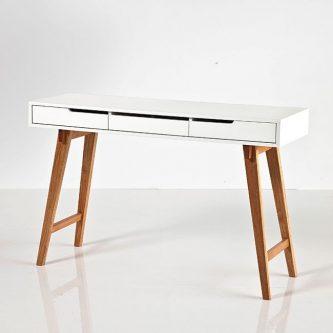 Skandynawskie biurko-konsola aspen 2