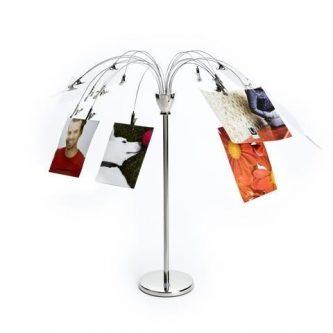 Metalowe drzewo na zdjęcia fotofalls desk
