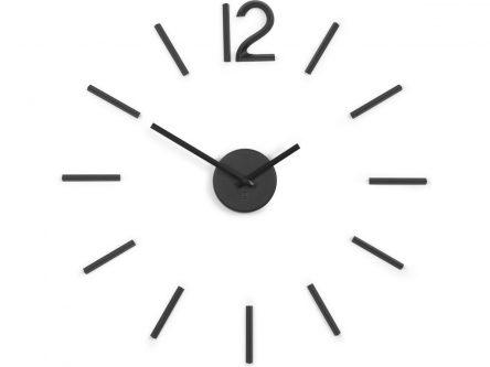 Naklejany zegar ścienny blink