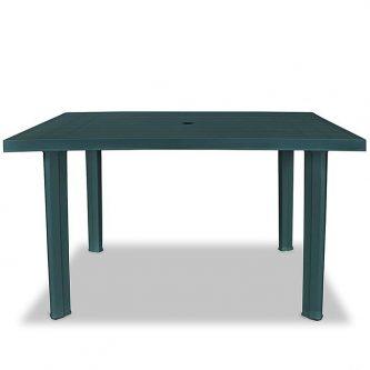 Praktyczny stół ogrodowy imelda 2x – zielony