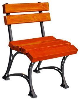 Drewniane krzesło ogrodowe figaro – 7 kolorów biały