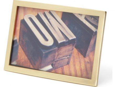 Prostokątna ramka na zdjęcia senza 10×15