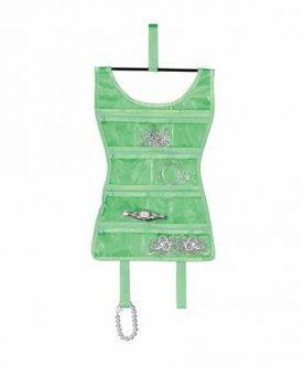 Kolorowy organizer na biżuterię sukienka mini