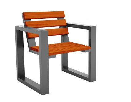 Fotel ogrodowy norin silver- 8 kolorów wenge