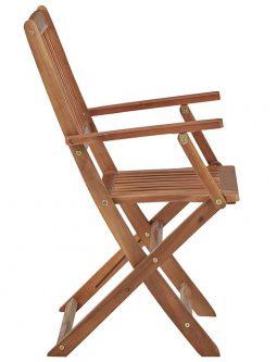 Komplet krzeseł ogrodowych tony 4 szt.