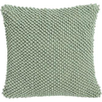 Zielona poduszka dekoracyjna jumbo dots 45×45