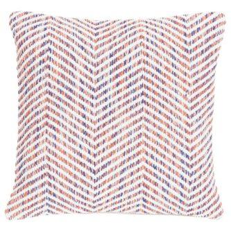 Poduszka w geometryczne wzory melange zigzag 45×45
