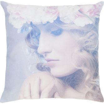 Dekoracyjna poduszka z kobiecym portretem joyce 45×45