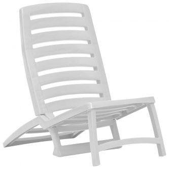 Składany zestaw plażowy lido – biały