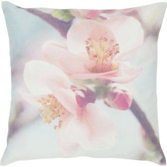 Pastelowa poduszka z kwiatowym motywem cato 45×45
