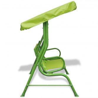 huśtawka dla dzieci żabka zielona
