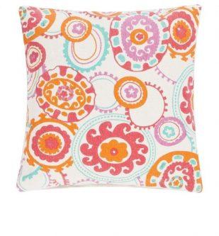 Wzorzysta poduszka dekoracyjna colour jam 45×45