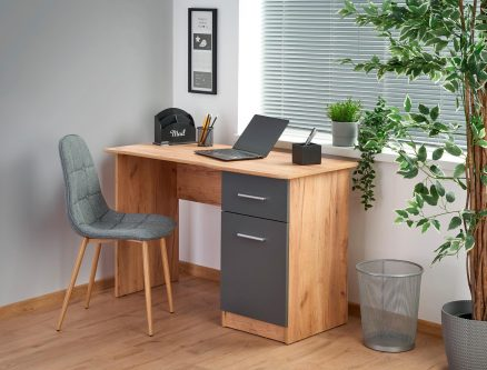 Biurko komputerowe z szafką i szufladą elmo
