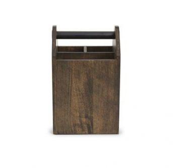 Drewniany organizer z przegródkami toto tall