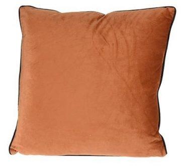 Gładka poduszka kwadratowa velveti 45×45 cm