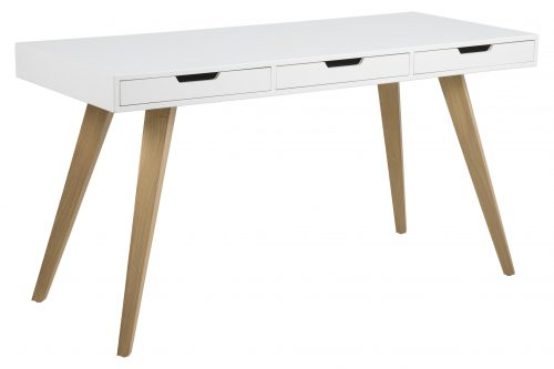 Skandynawskie biurko z szufladami estelle