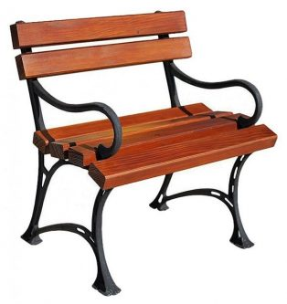 Drewniane krzesło ogrodowe helen – 7 kolorów biały