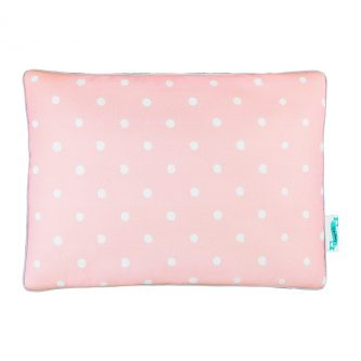 Dwustronna poduszka dziecięca w groszki lovely dots